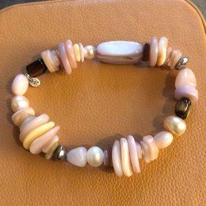Retired Silpada Rose Quartz Bracelet